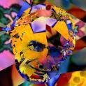 Richard Dawkins als Evo-Kunstwerk